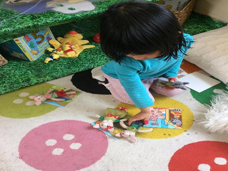 Indoor play at Nursery