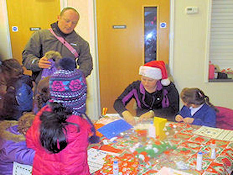 Christmas wrapping activity