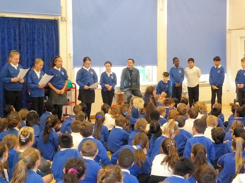 Whole School Poetry Slam