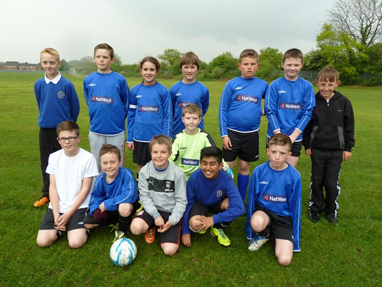 Football team members