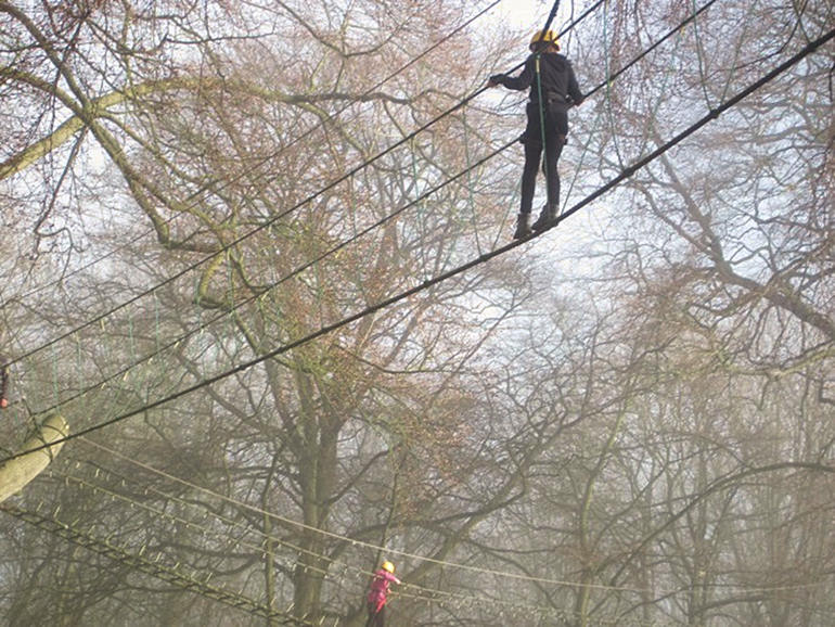 On the high ropes