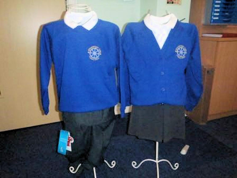 Examples of school uniform